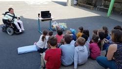 Témoignage à l'école privée Ave Maria à Chaudefonds sur Layon le 29/09/18