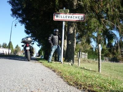 Le parc naturel régional de Millevaches à moto - Limousin