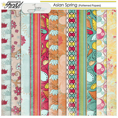 Asian Spring by JOEY