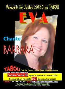 EVA chante BARBARA