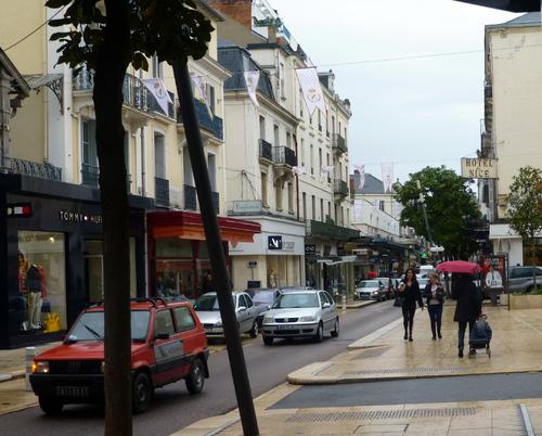 - A l'approche de St-Etienne.