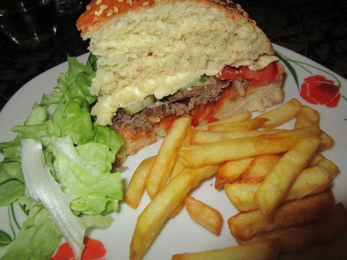 Burger géant