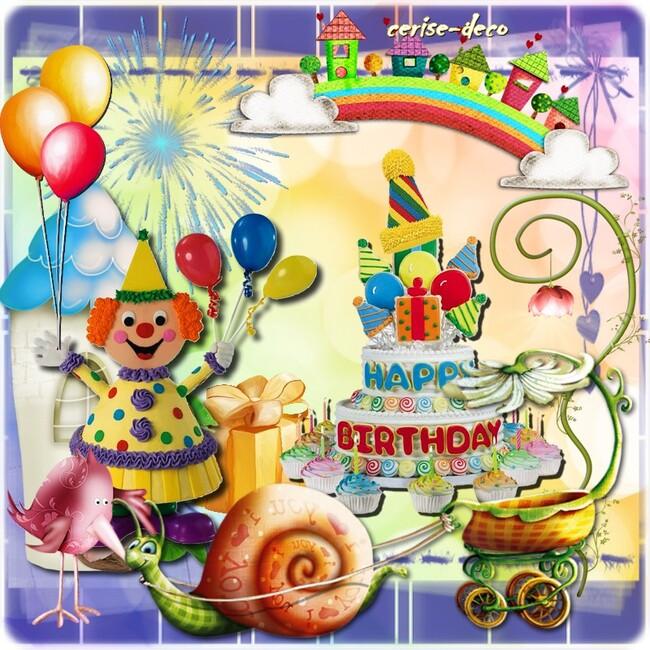 cadeau : cluster anniversaire