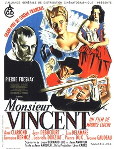 monsieur vincent BOX OFFICE  FRANCE 1947