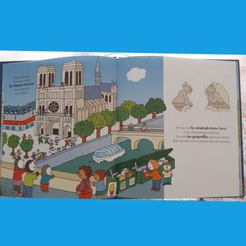 Des livres pour découvrir Paris, s'éveiller à la musique, expliquer le corps humain et  préparer Noël!