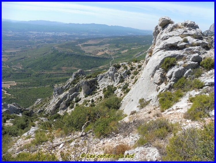 sainte Victoire, le col Saint Ser, le vallon de Bramefan