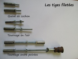 C Les tiges filetées