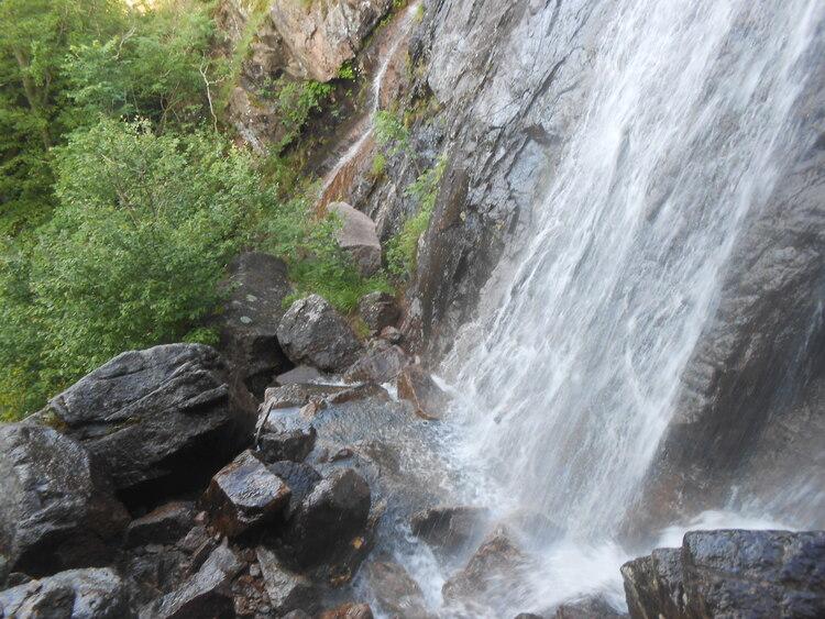 Vosges- Lac d'Alfeld/cascades du Wasserfal