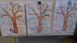 L'arbre d'automne - bricolage