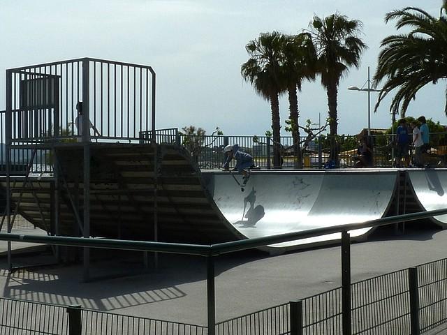 Skate Park du Mourillon 2 Marc de Metz 2012