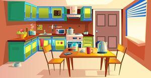 Jouer à Genie Kitchen door escape 4