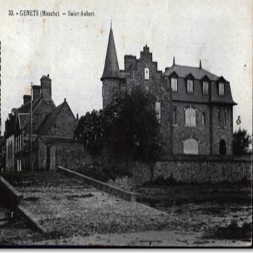 Genêts ( Villa St Aubert ) Louis Adrian .