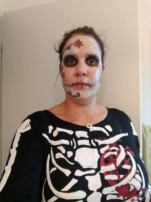 Hier c'était Halloween