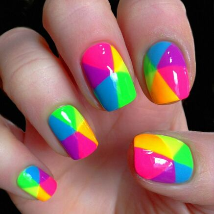 Colorful Nail Design! #yesfor