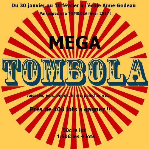 MEGA TOMBOLA