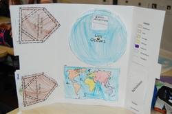 Lapbook sur le planisphère, les continents et océans (CE2/CM1)