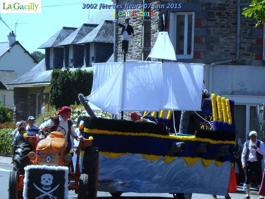 FÊTE DES FLEURS 2015  6/6   LA  GACILLY  MORBIHAN    11/08/2015