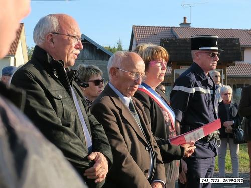 * 74 ème anniversaire de la libération de  Champagney- Éboulet - samedi 29 septembre 2018