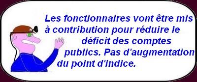 Budget, fonctionnaires,