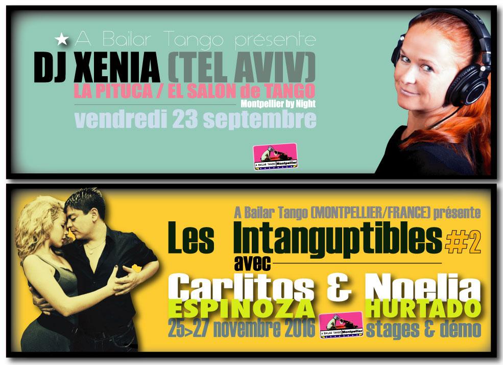 ★ La rentrée AB TANGO/ LA PITUCA vendr. 23/9 > DJ XENIA (Tel Aviv) ★