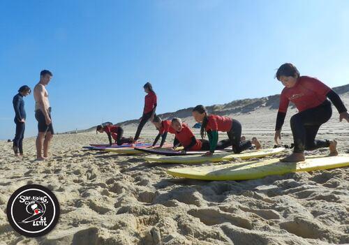 Notre Chipiron fait du surf