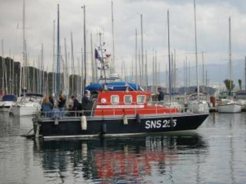 Les joutes nautiques d'Auray à Saint Goustan.
