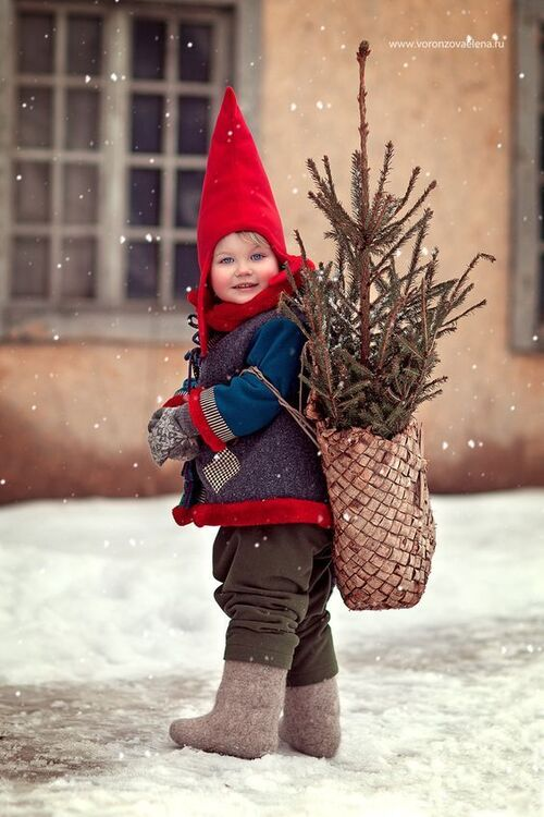 L'hiver et les enfants