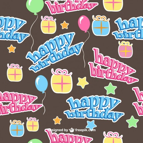 Motifs Happy Birthday