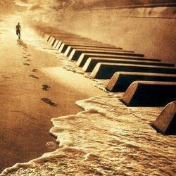 La plage du rêve fou.