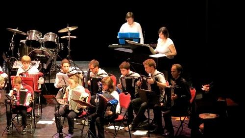 Le concert de France Accordéon en 2012