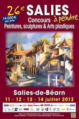 Salies à Peindre 2013 à Salies de Béarn