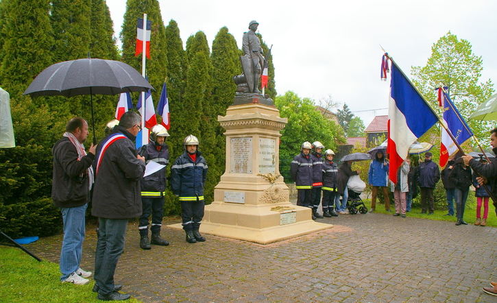 COMMEMORATIONS DU 8 MAI 2019