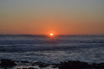 Un coucher de soleil à Saint-Pierre