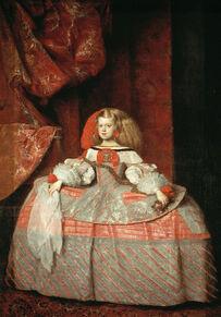 Portrait de l'infante Marguerite-Thérèse à l'âge de 8 ans, 1659Musée du Prado, Madrid
