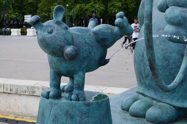 Le chat déambule sur ls quais de Bordeaux (4)