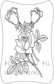 Cartonnettes - Roses