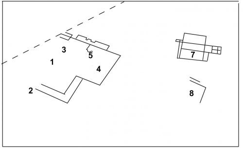 Une villa gallo-romaine en plein champ