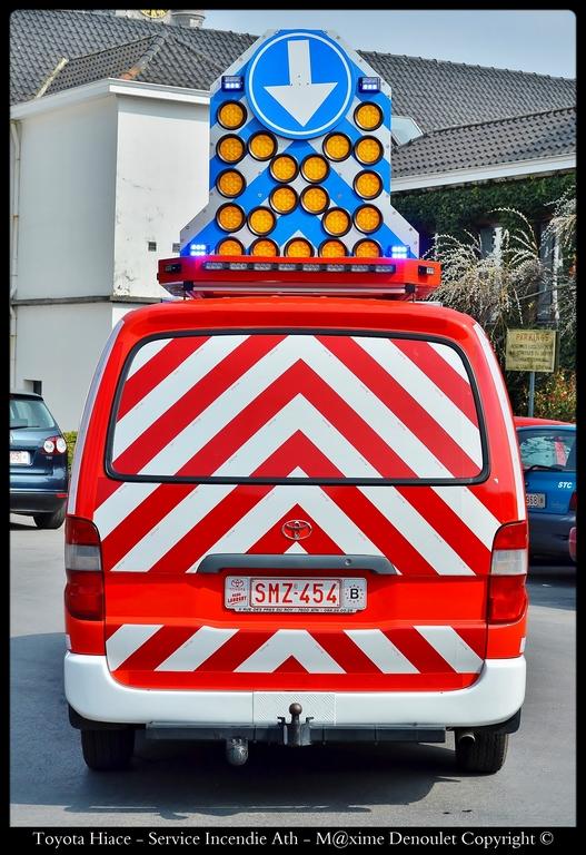 v hicule de balisage service incendie ath belgian emergency service. Black Bedroom Furniture Sets. Home Design Ideas