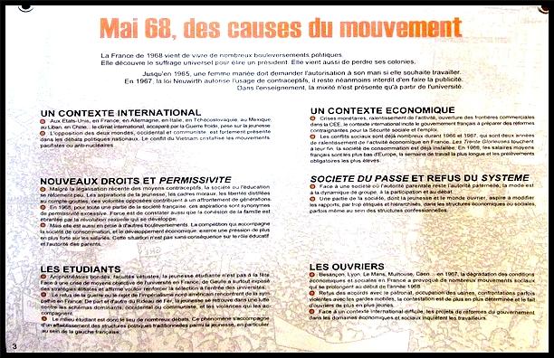 La Ligue des Droits de l'Homme a présenté une exposition sur mai 68