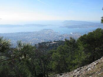 Le Fort-Faron, et la rade de Toulon