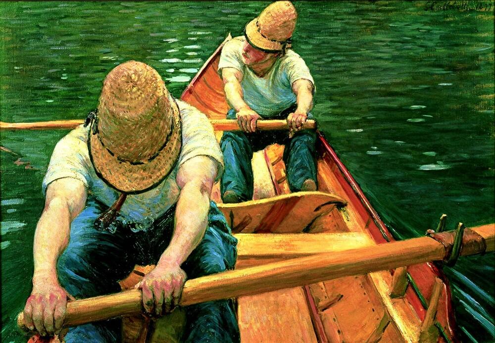 Caillebotte /2/       1877 : les canotiers