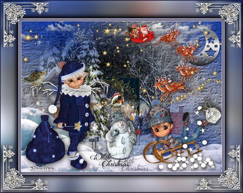 Le pére Noël arrive