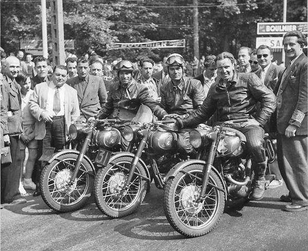 Bol d'or 1951 : le deux-temps sort ... du bois !