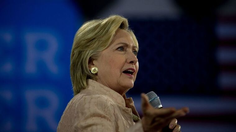 HIllary Clinton Campaigns In Cleveland