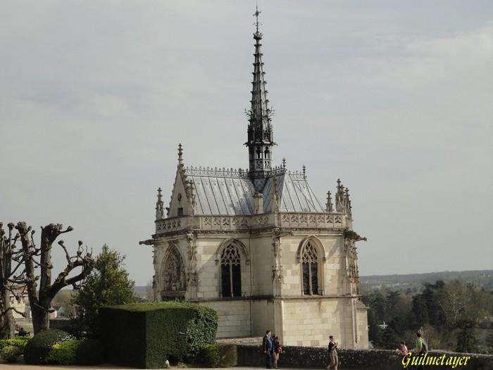 Centre Indre-et-Loire Amboise chapelle