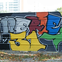 Communaute art de la rue mur peint fresque