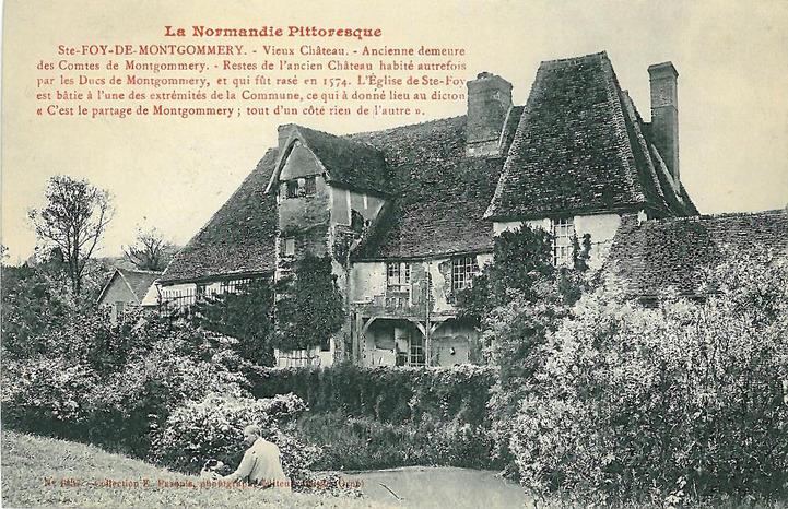 LES REMPARTS DE SAINT-GERMAIN DE MONTGOMMERY (Calvados)