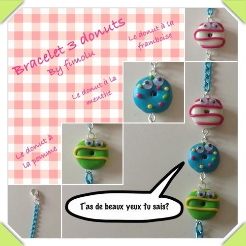 Création 2014-2: les donuts aux beaux yeux