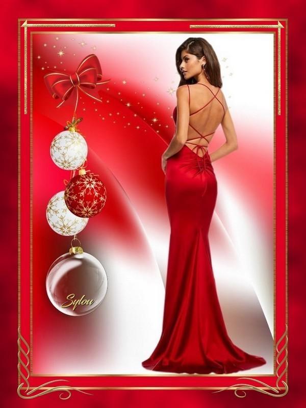 Femme Noël ღ