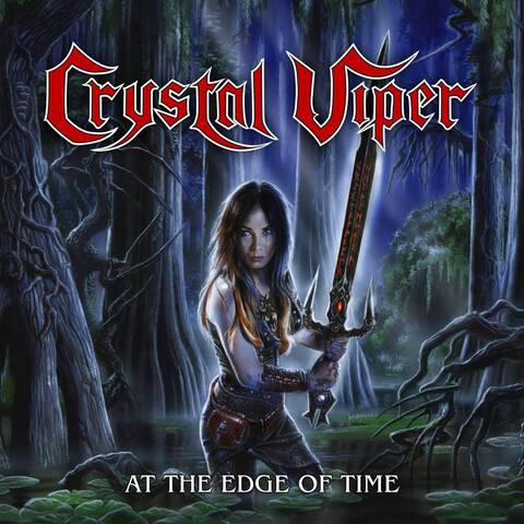 CRYSTAL VIPER - Les détails du nouvel EP At The Edge Of Time